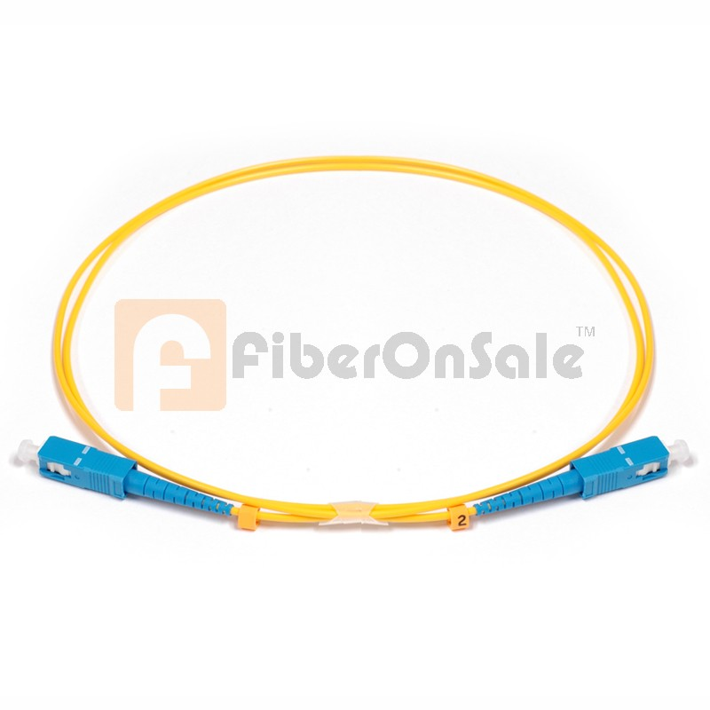 SC-SC Simplex OS1 9/125 Single-mode Fiber Patch Cable