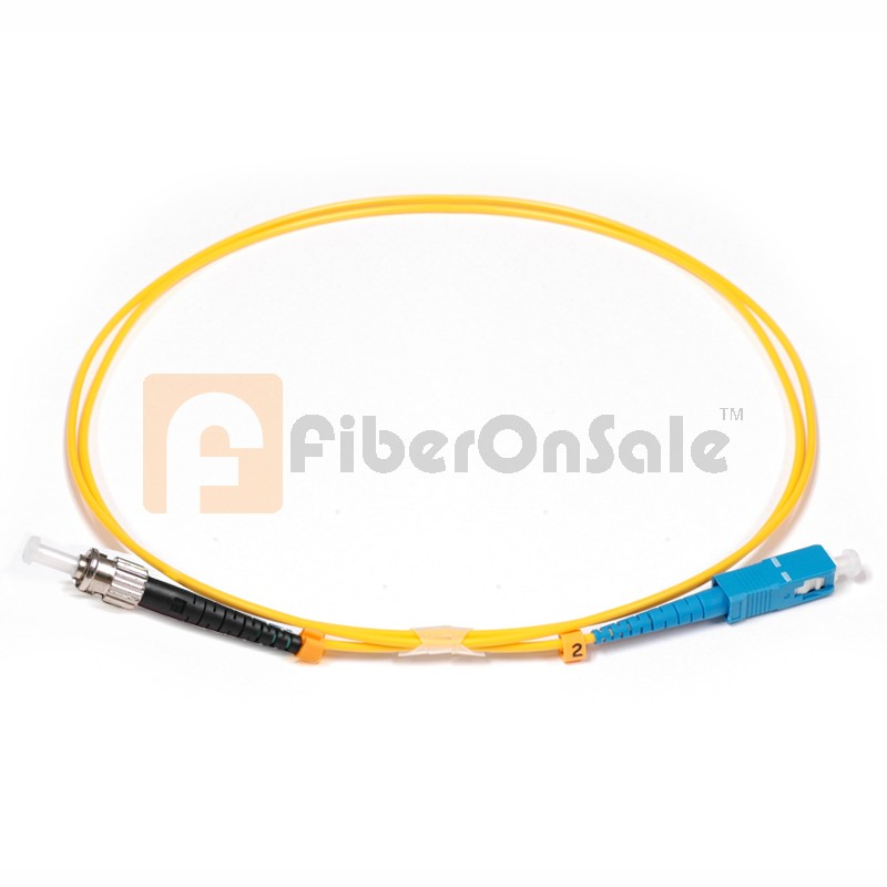 SC-ST Simplex OS1 9/125 Single-mode Fiber Patch Cable