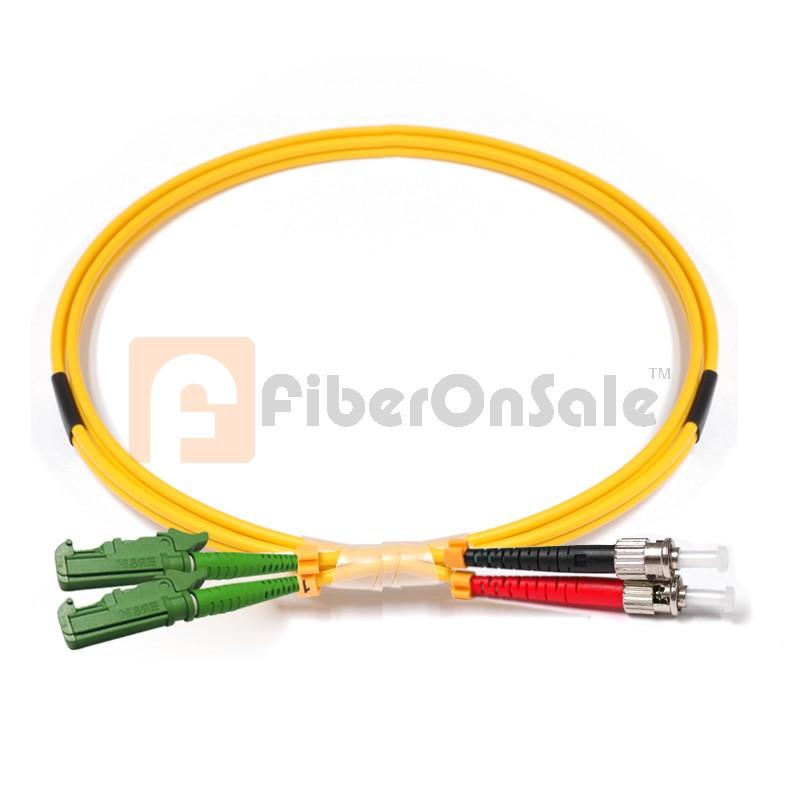 ST-E2000 Duplex OS1 9/125 Singlemode Fiber Patch Cable