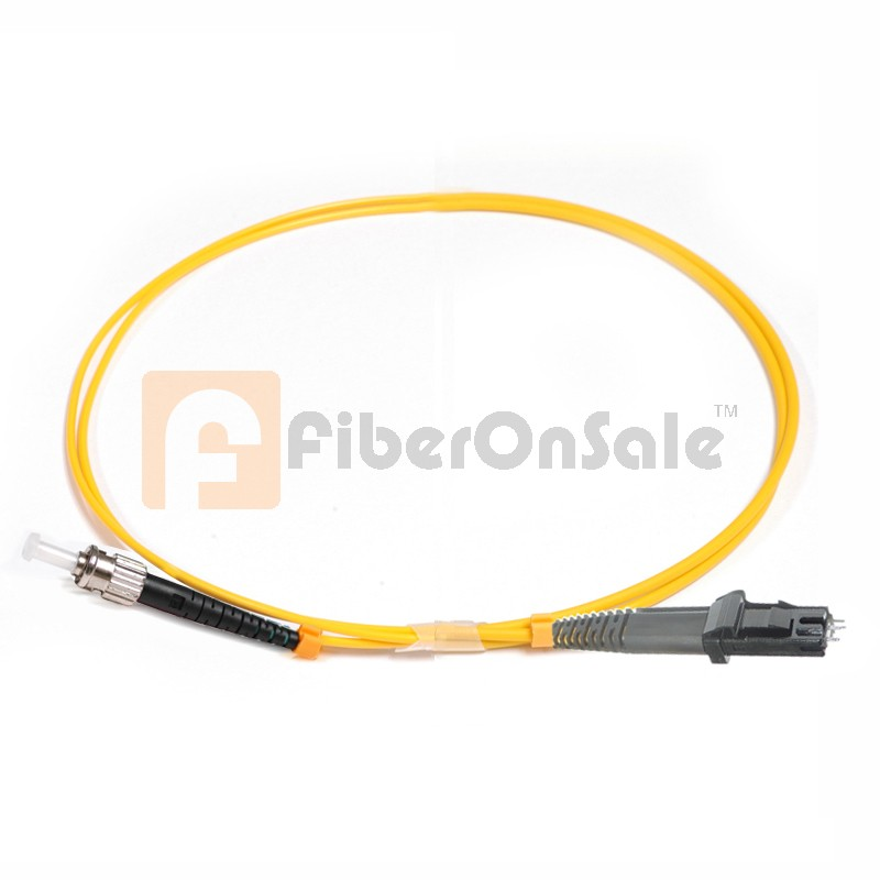 ST-MTRJ Simplex OS1 9/125 Single-mode Fiber Patch Cable