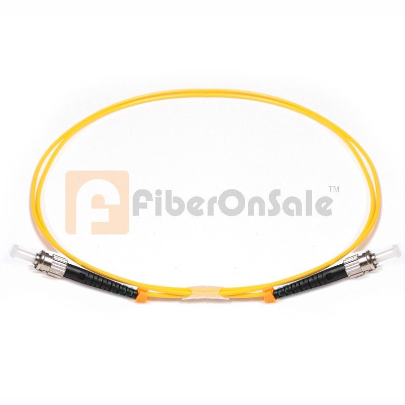 ST-ST Simplex OS1 9/125 Single-mode Fiber Patch Cable