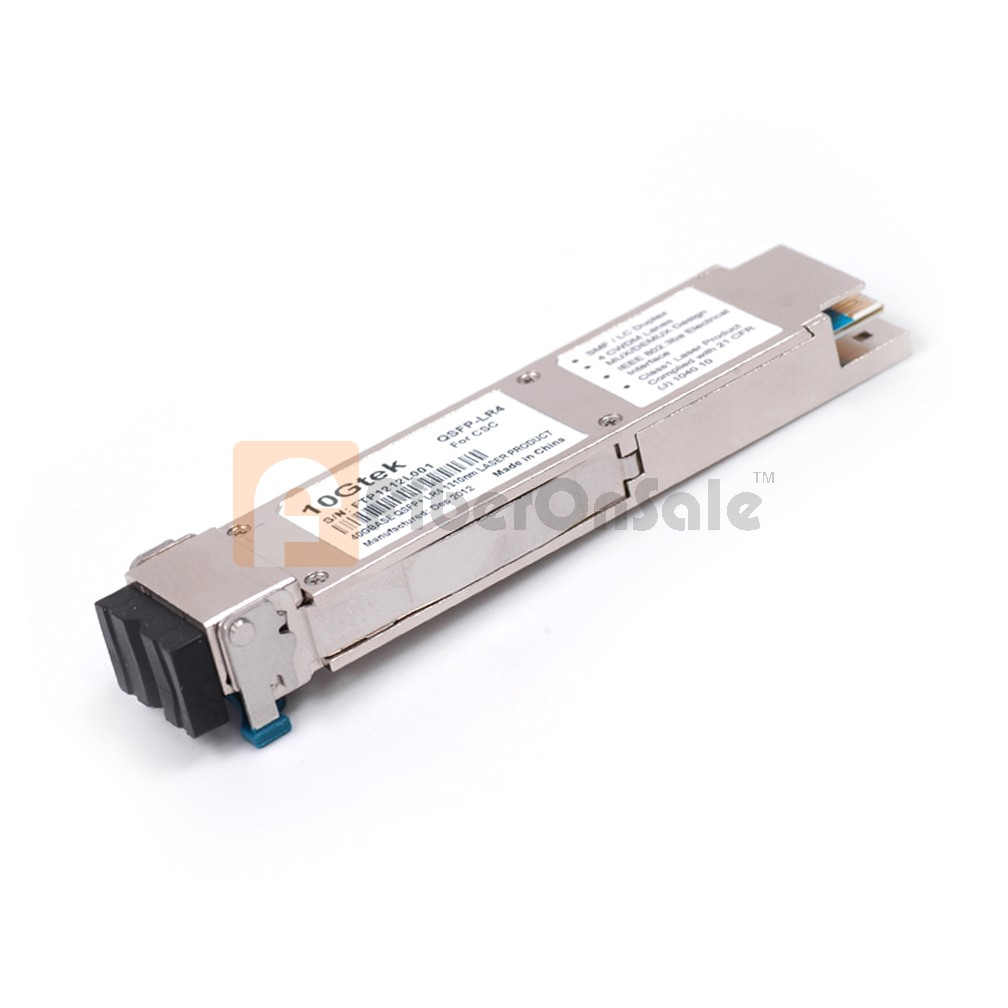 Cisco compatible 40GBASE-LR4 QSFP+ 1310nm 10km Transceiver Module for SMF