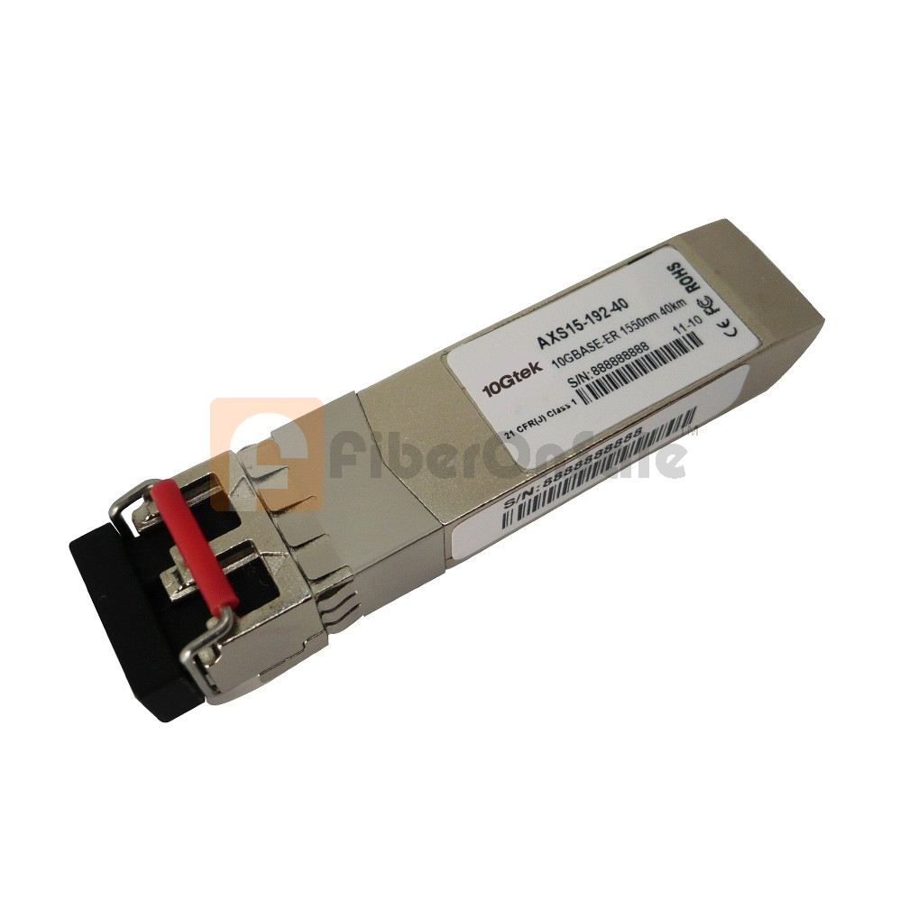 Cisco SFP-10G-ER Compatible 10GBASE-ER SFP+ 1550nm 40km Transceiver Module