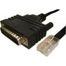 Cisco CAB-CONAUX AUX Port RJ45 to Modem DB25 1.83M Cable