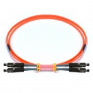 MU-MU Duplex OM2 50/125 Multimode Fiber Patch Cable