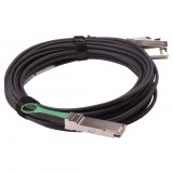 Extreme compatible 40GBase QSFP+ to 4 SFP+ 5M Breakout copper cable