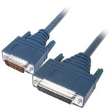 Cisco 72-0794-01 CAB-232FC LFH60 Male to DB25 RS232 DCE Female 3M Cable