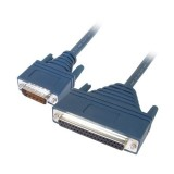 Cisco 72-0796-01 CAB-449FC LFH60 Male to DB37 RS449 DCE Female 3M Cable