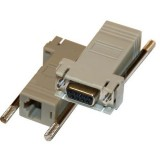 Cisco CAB-9AS-FDTE DB9 Female to RJ45 Female Console Adapter