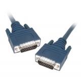 Cisco 72-0838-01 CAB-E1-DB15 DB15M to DB15M 3M Cable