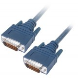 Cisco CAB-HD60MMX-3 LFH60 Male DTE to Male DCE 90CM Crossover Cable