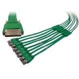 Cisco 72-4023-01 CAB-HD8-ASYNC VHDCI 68 Male to 8 RJ45 Male 3M Cable