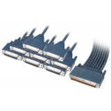 Cisco 72-1105-01 CAB-OCT-232-FC 8 Lead Octal Cable and 8 Female RS232/V.24 DCE Connectors