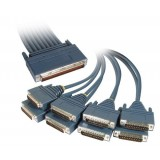Cisco CAB-OCT-232-MT 8 Lead Octal Cable and 8 Male RS232/V.24 DTE Connectors