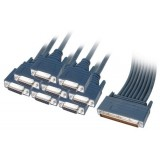 Cisco CAB-OCT-X21-FC 8 Lead Octal Cable and 8 Female X21 DCE Connectors