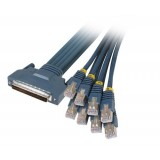 Cisco 72-0845-01 CAB-OCTAL-ASYNC HPDB 68 Male to 8 RJ45 Male 1M Cable