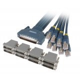 Cisco CAB-OCTAL-KIT CAB-OCTAL-ASYNC Cable and 8 RJ45 to DB25 Male Adapters