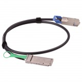 1M Passive AWG28 QSFP to CX4 DDR Cable