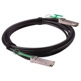 5M Passive Copper AWG28 40GBASE QSFP+ Direct Attach Cable