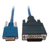 Cisco CAB-SS-2660X-1 Smart Serial Male DTE to LFH60 Male DCE 30CM Crossover Cable