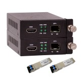[HDMI  to SFP+ Converter (A pair)] + [2x SFP+ LR] Kit1