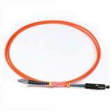 FC-MU Simplex OM1 62.5/125 Multimode Fiber Patch Cable
