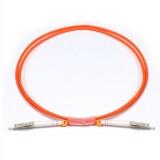 LC-LC Simplex OM1 62.5/125 Multimode Fiber Patch Cable