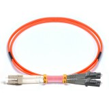 LC-MTRJ Duplex OM1 62.5/125 Multimode Fiber Patch Cable