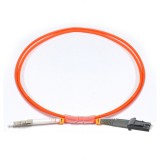LC-MTRJ Simplex OM1 62.5/125 Multimode Fiber Patch Cable