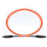 MU-MU Simplex OM1 62.5/125 Multimode Fiber Patch Cable