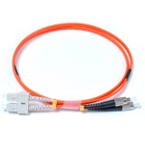 SC-FC Duplex OM1 62.5/125 Multimode Fiber Patch Cable