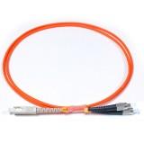 SC-FC Simplex OM1 62.5/125 Multimode Fiber Patch Cable