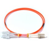 SC-LC Duplex OM1 62.5/125 Multimode Fiber Patch Cable