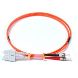SC-ST Duplex OM1 62.5/125 Multimode Fiber Patch Cable