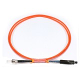 ST-MU Simplex OM1 62.5/125 Multimode Fiber Patch Cable