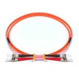 ST-ST Duplex OM1 62.5/125 Multimode Fiber Patch Cable