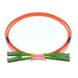 E2000-E2000 Duplex OM2 50/125 Multimode Fiber Patch Cable