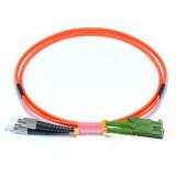 FC-E2000 Duplex OM2 50/125 Multimode Fiber Patch Cable