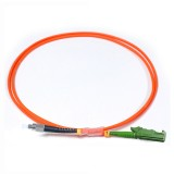 FC-E2000 Simplex OM2 50/125 Multimode Fiber Patch Cable