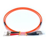 FC-ST Duplex OM2 50/125 Multimode Fiber Patch Cable