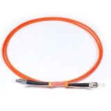 FC-ST Simplex OM2 50/125 Multimode Fiber Patch Cable