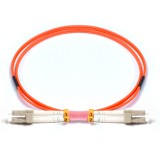 LC-LC Duplex OM2 50/125 Multimode Fiber Patch Cable