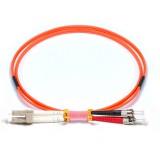 LC-ST Duplex OM2 50/125 Multimode Fiber Patch Cable