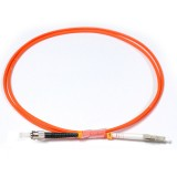 LC-ST Simplex OM2 50/125 Multimode Fiber Patch Cable