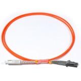 SC-MTRJ Simplex OM2 50/125 Multimode Fiber Patch Cable
