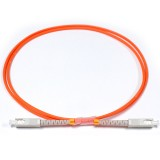 SC-SC Simplex OM2 50/125 Multimode Fiber Patch Cable