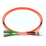 ST-E2000 Duplex OM2 50/125 Multimode Fiber Patch Cable