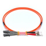 ST-MTRL Duplex OM2 50/125 Multimode Fiber Patch Cable