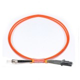 ST-MTRJ Simplex OM2 50/125 Multimode Fiber Patch Cable