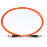 ST-ST Simplex OM2 50/125 Multimode Fiber Patch Cable